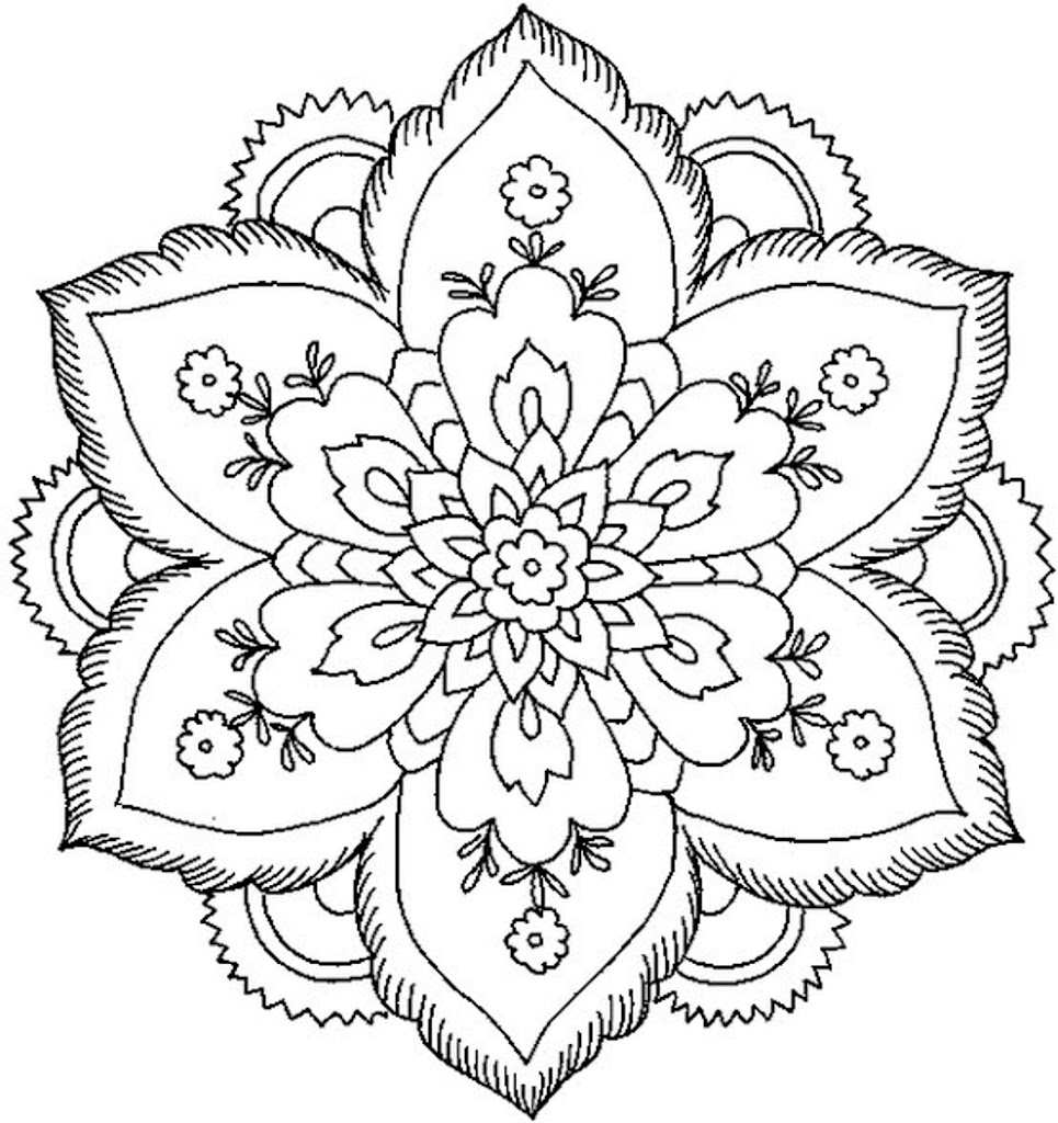 mandala coloring pages expert level - best hd animal mandala coloring pages easy library