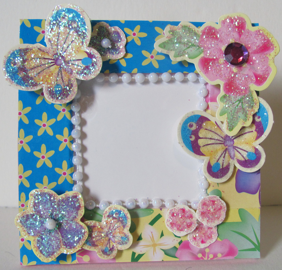Chrissy\'s Creative Corner: Darling Picture Frames