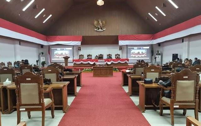 Rapat Paripurna DPRD Pulpis dengan Empat Agenda Ini