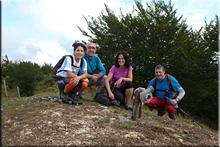 San Kristobal mendiaren gailurra 1.046 m. -- 2015eko irailaren 5ean