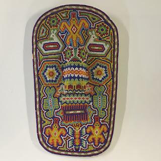 Huichol Mexican Beaded Mask