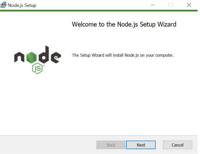 Install Node JS