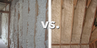Open Cell or Closed Cell Foam Insulation?