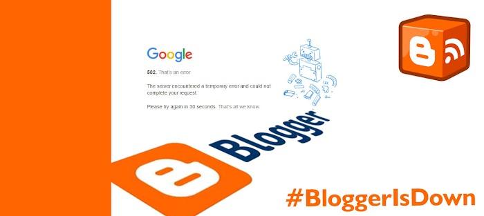 #BloggerisDown,  Apa Yang Terjadi?