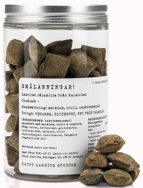Smålänningar - lakritskaramell - Haupt Lakrits