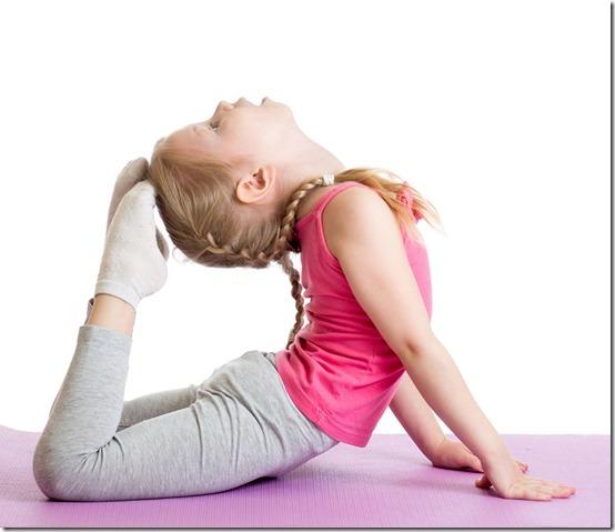 Asanas de Yoga resumidas para niños 67