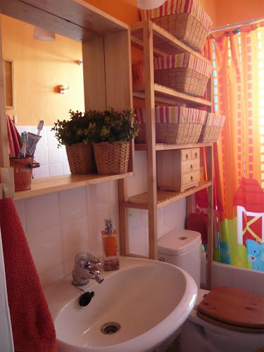 Hacer Estantes Para Baño:Punto de luz