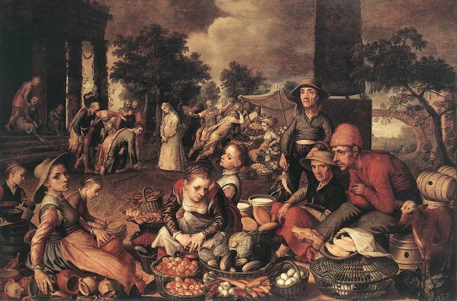 Pieter Aertsen - Christ and the Adulteress
