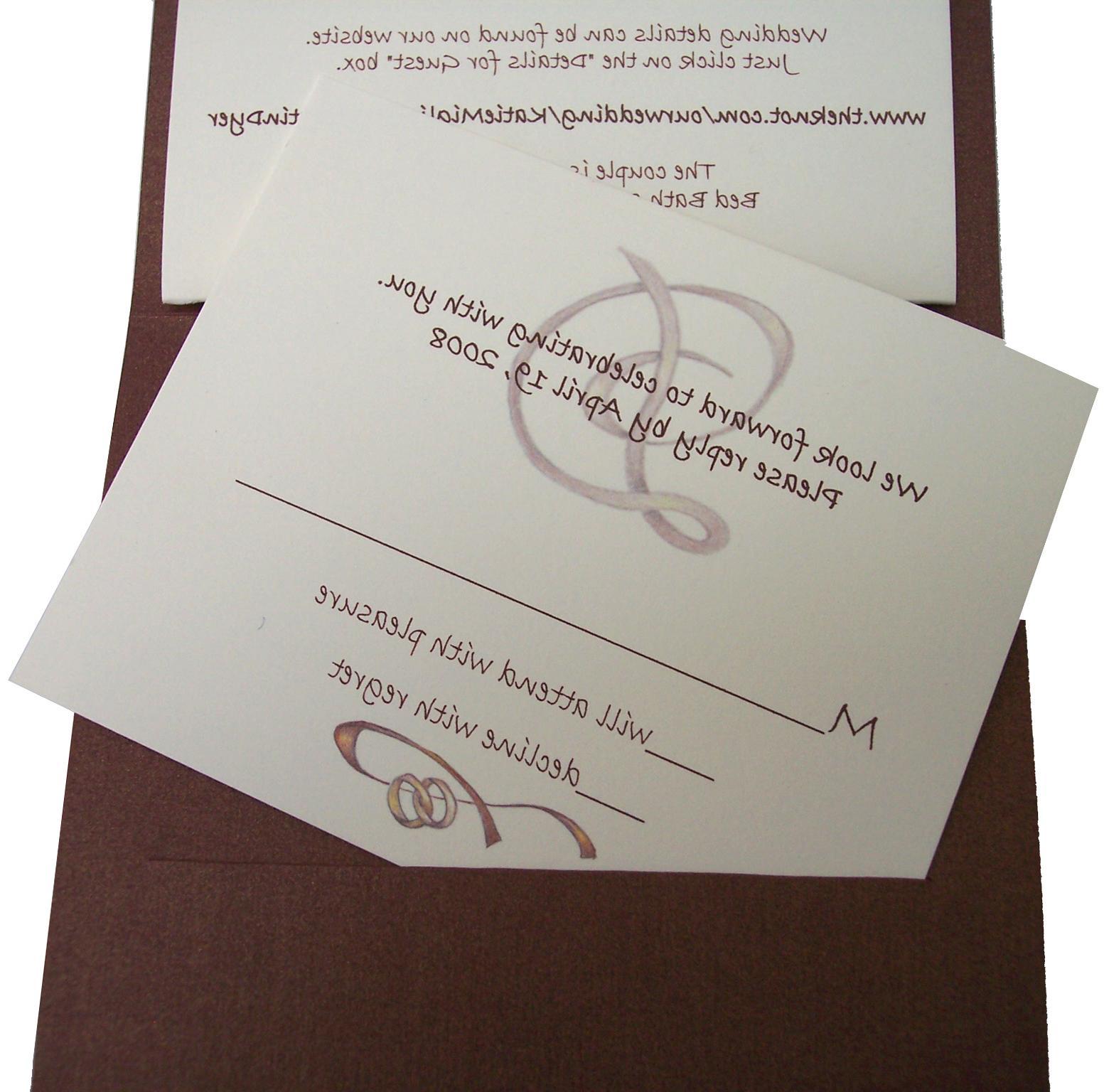 Fun Wedding Rsvp Card Wording: Amberly's Blog: Fun Response RSVP Card Wording