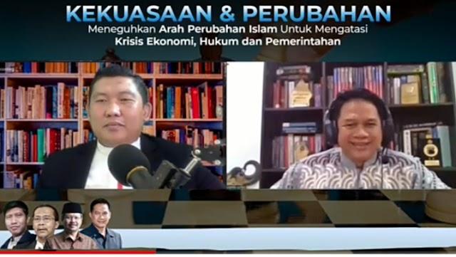 Prof. Suteki Tegaskan Hukum Perspektif Islam Mampu Wujudkan Tujuan Nasional Negara