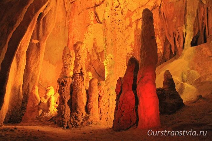 Пещеры Португалии - Grutas de Moeda