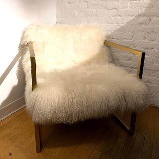 Mongolian Lamb Armchair