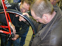 Sleutelsessie bij Bike Centre Dik