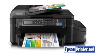 How to Reset Epson L655 printing device – Reset flashing lights error