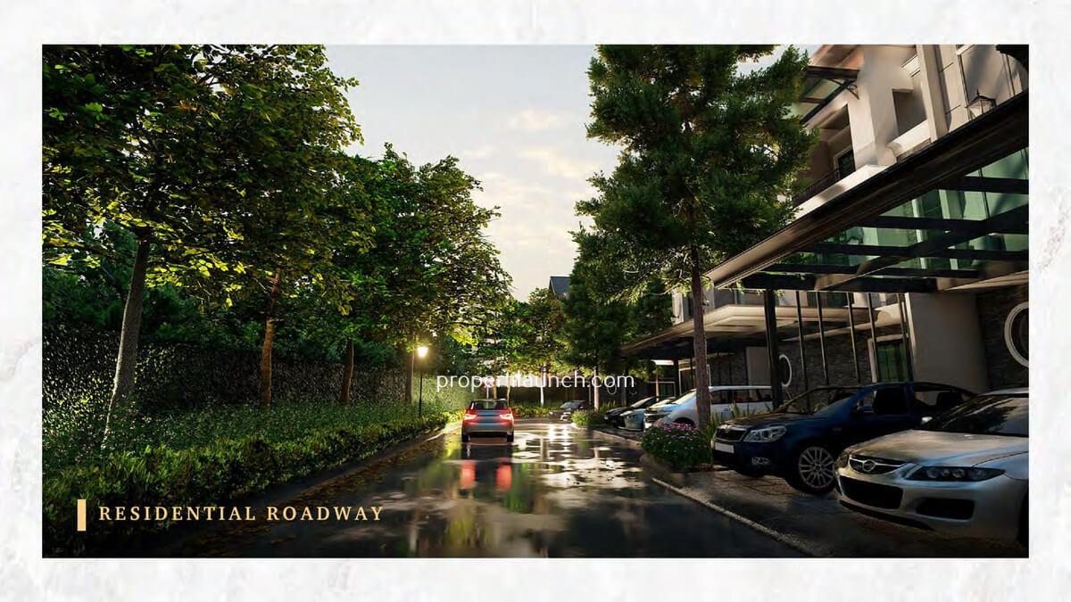 Suasana Klaster Bukit Podomoro