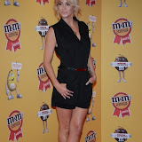OIC - ENTSIMAGES.COM - Sarah Harding at the M & M  party to celebrate a spoof election of its confectionary characters.  M&M's World, Leicester Square, London, 14th April 2015   Photo Mobis Photos/OIC 0203 174 1069