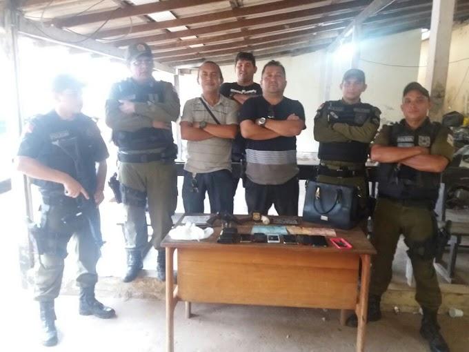 Em uma operação conjunta em Alenquer Policiais Civil e Militar colocam assaltantes atrás das grades