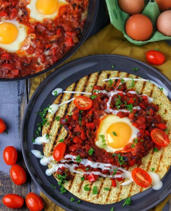 Huevos Rancheros/ Rancher's Eggs Recipe | Breakfast Care