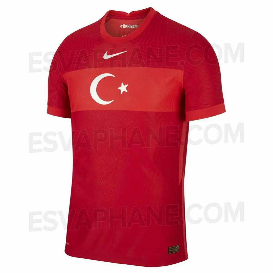 gambar ringan Bocoran Jersey Turki Home Euro 2021