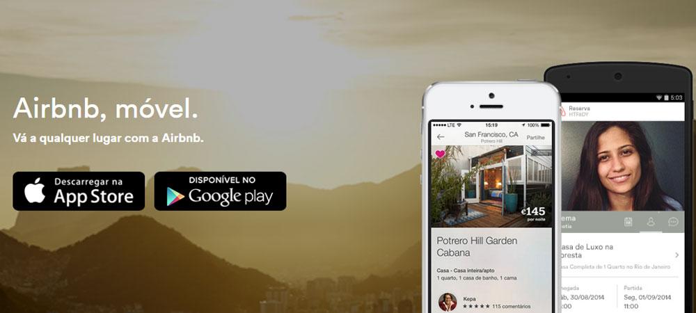 Apps de viagem Airbnb