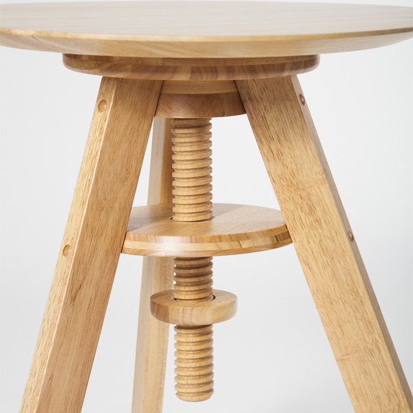 Pianola table:ディテール