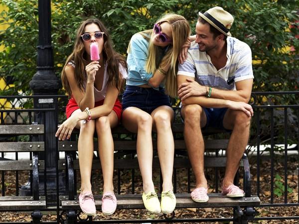 giày đế xuồng buộc dây sẽ hot trong hè 2013