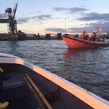ILB training with the boarding boat - 21 September 2015.  Photo credit: Joe Manning