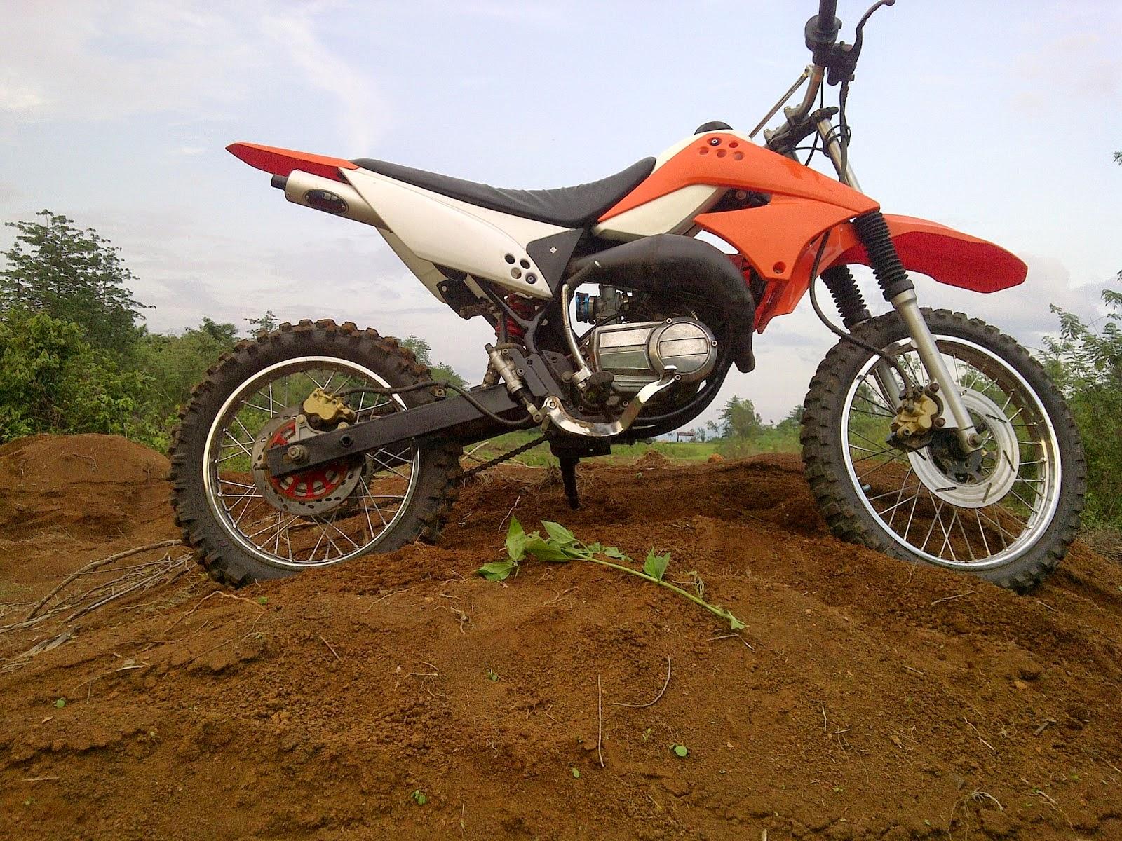 Kawasaki KLX 150 Modifikasi Motor Trail