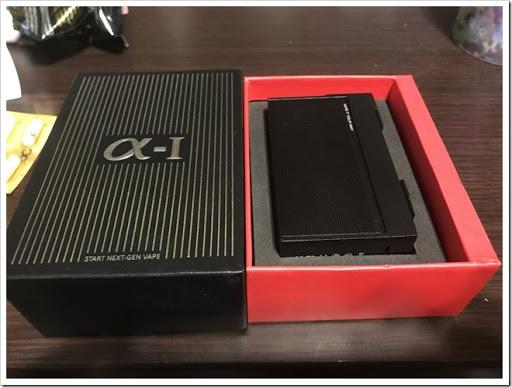 IMG 4488 thumb - 【カクカク】「VOOPOO Alfa One 222W」(ヴープー・アルファワン)レビュー!90年代を思わせる独特のSF感あるハイパワーMOD、222Wを使いこなし、究極の爆煙マンを目指せ!【テクニカル/SF/デザイナーズ】