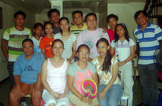 April 7: Madonna Hermosura's residence in San Rafael, Tarlac together with oldest brother, elder sister and mother