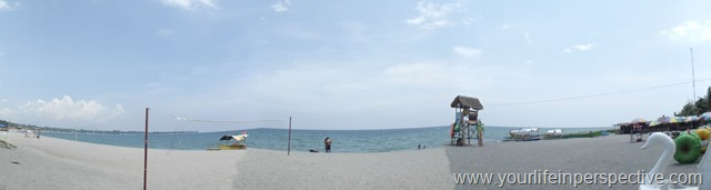 Panoramic View of the beach during the Day