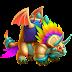 Dragón Triplumas   Tri-Feather Dragon