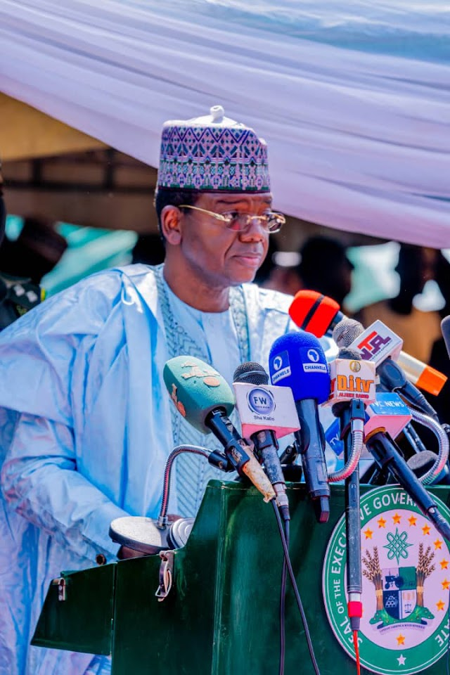 """""""We Will Be More Decisive"""" - Governor Matawalle"""