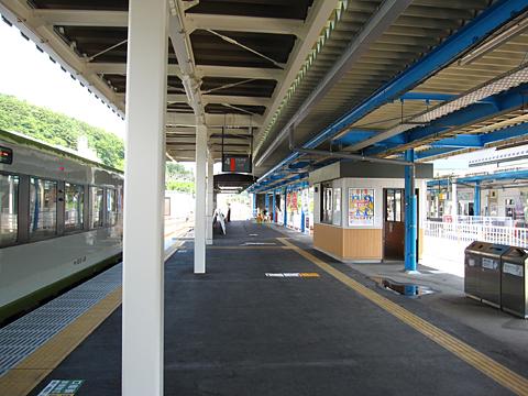 JR気仙沼駅 ホーム その1