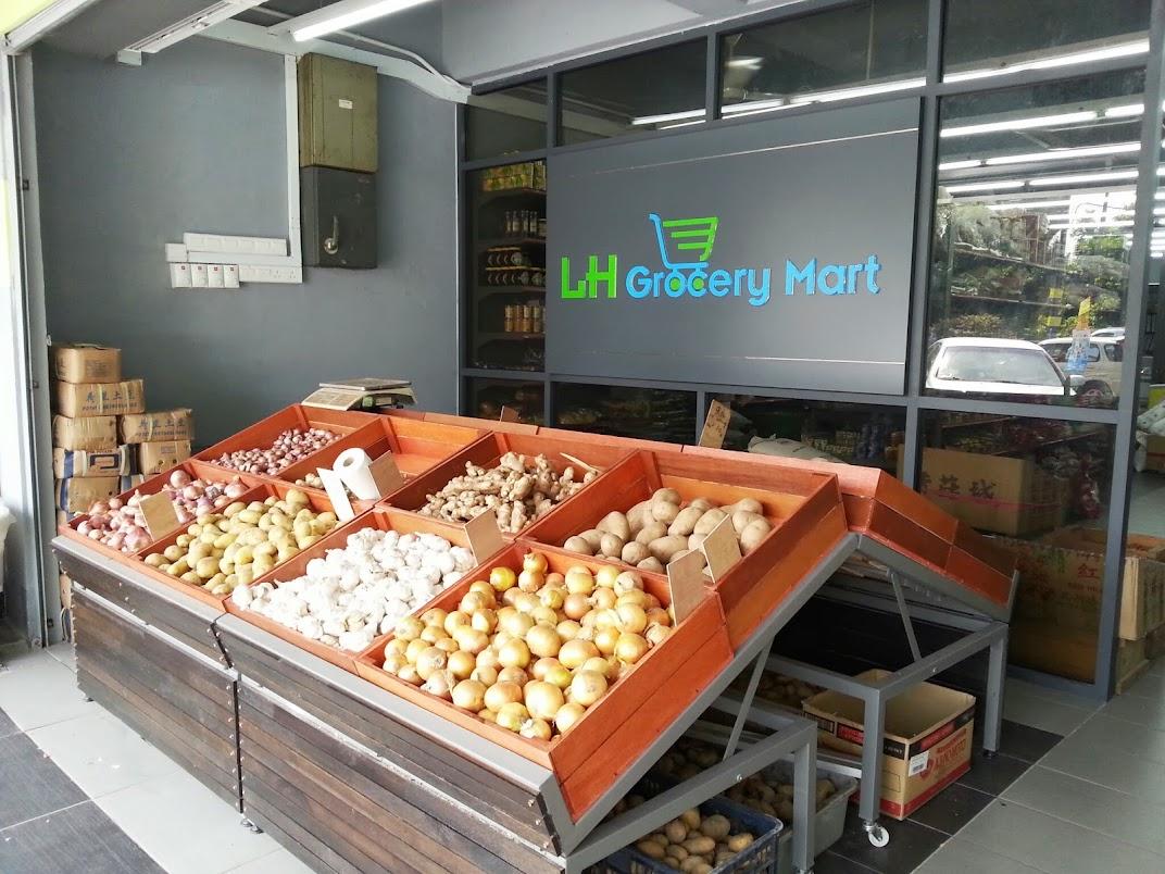 fruits display rack