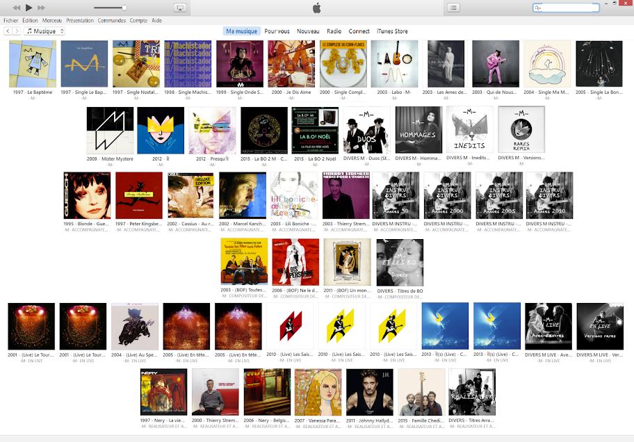Albums Single Intégrale Matthieu Chedid -M- Je dis aime