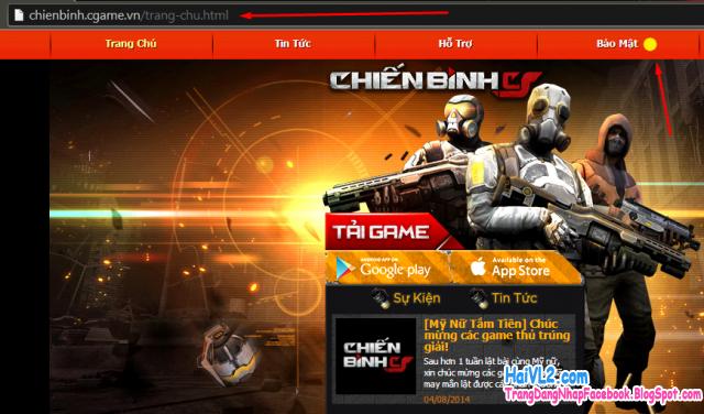 đăng ký nick game đột kích cho phiên bản chiến binh đột kích trên android, iphone
