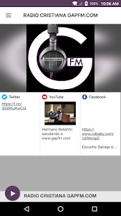 RADIO CRISTIANA GAPFM.COM- screenshot thumbnail