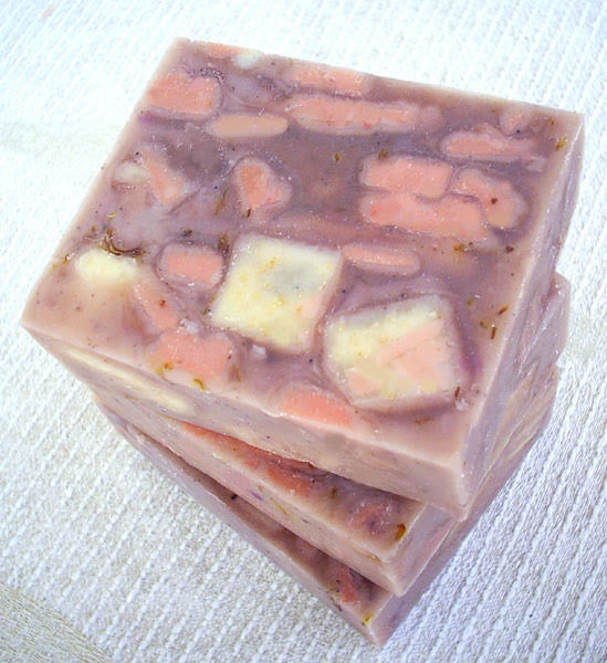 薰衣草紫草修護皂