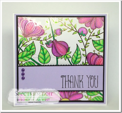 Colourista Foil - Thank You (3)
