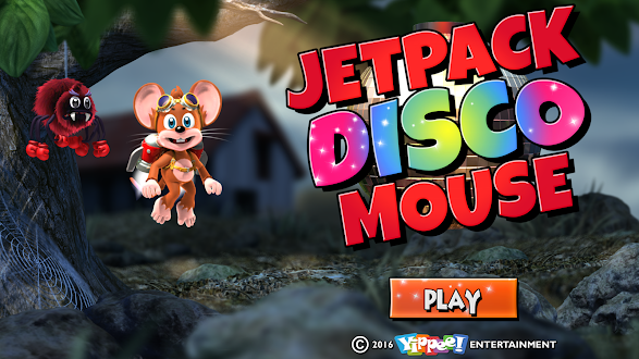 Jetpack Disco Mouse HD Gratis