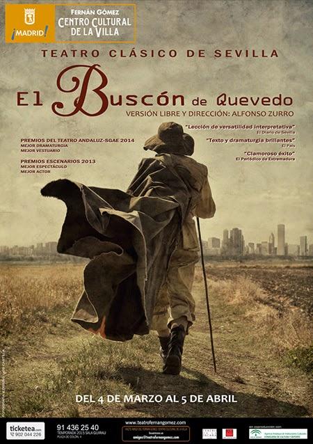 'El Buscón' de Quevedo, llega al Fernán Gómez