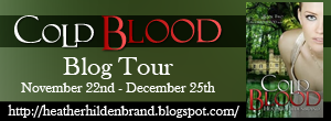 Tour Excerpt & Giveaway: Cold Blood by Heather Hildenbrand