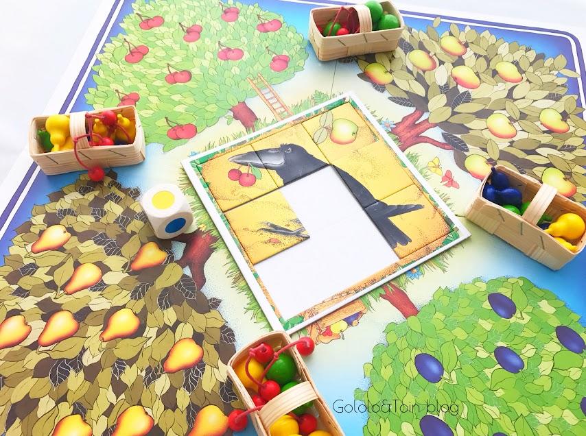 Juegos de mesa colaborativos, el Frutal de Haba