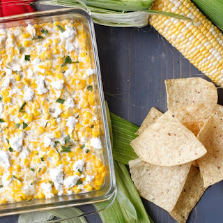 Hoosier Corn Queso Dip.