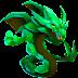 Dragón Mirada Esmeralda   Dreamgaze Emerald Dragon