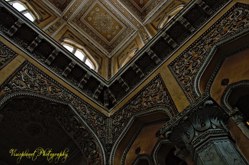 The palace interior by Sudipto Sarkar on Visioplanet