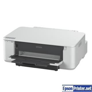 How to reset Epson K100 printer
