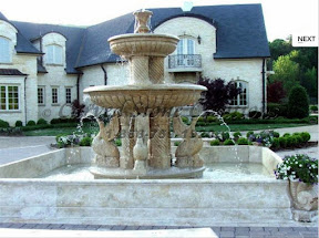 carved stone, Estate, Fountain, Ideas, Natural Stone, Pool, Pool Surrounds, Surround, Tiered