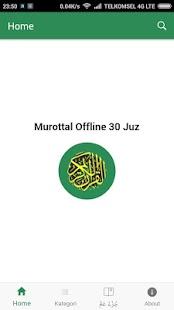 Murottal Offline 30 Juz - náhled